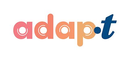 Logo Adap.t ACSM Montreal - guide d'activités pédagogiques santé mentale des jeunes