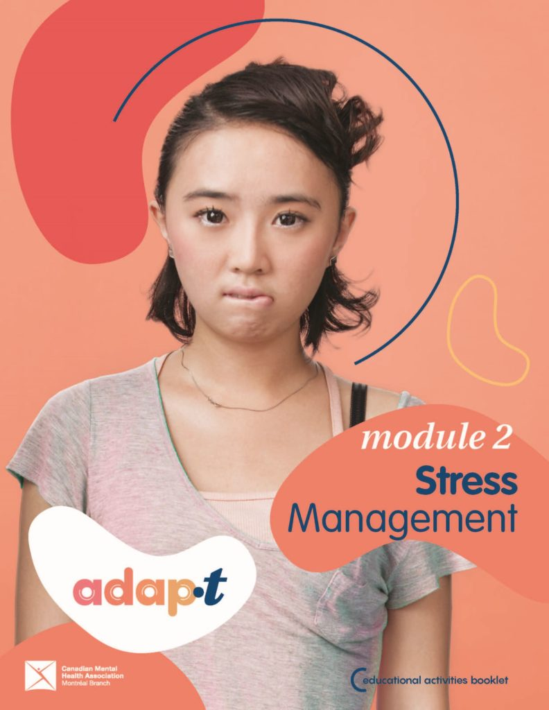 Stress management - educational activities booklet